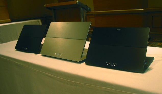 Sony Vaio Flip 13, Flip 14 and Flip 15: First impressions