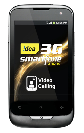 Idea unveils dual-SIM 3G Android smartphone for Rs. 7,190