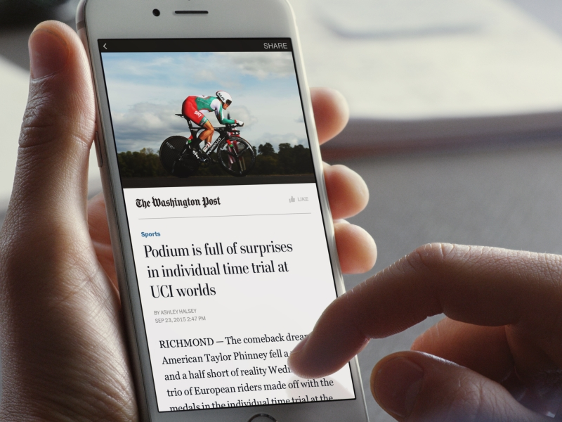 Facebook to Open Instant Articles to All Publishers