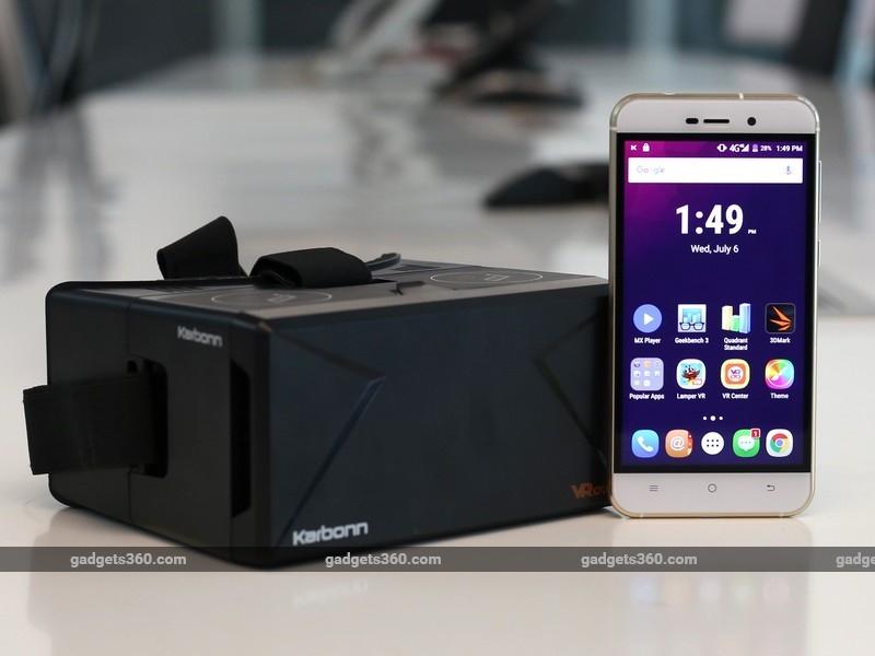 Karbonn Quattro L52 VR Review