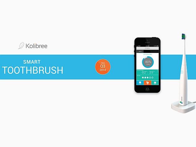Kolibree smartbrush