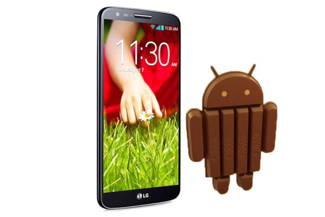 LG G2 to get international Android 4.4 KitKat update by end of March