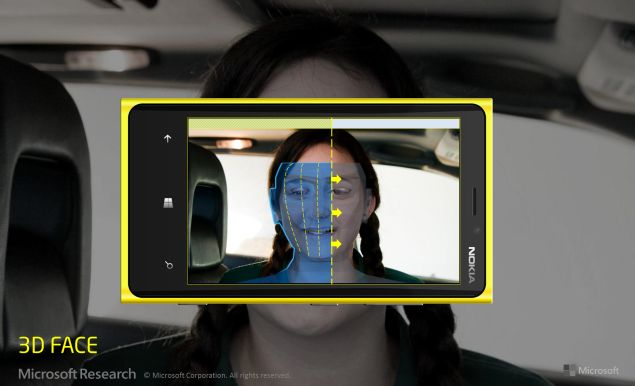 Microsoft Research tests 3D scanner feature for Windows Phone camera
