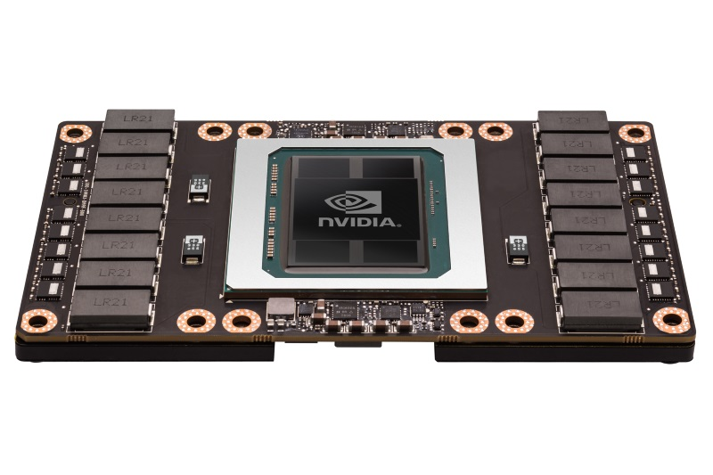 Nvidia Debuts Tesla P100 Accelerator With 15B Transistors for AI, Deep Learning