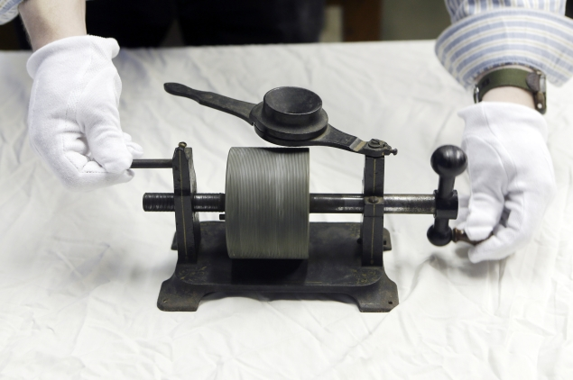 First-ever captured Edison audio recording from 1878 unveiled
