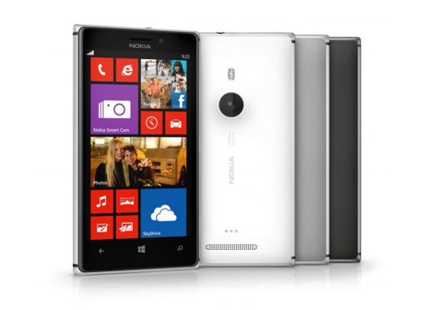 Nokia Lumia 925 listed on company's India website for Rs. 34,169