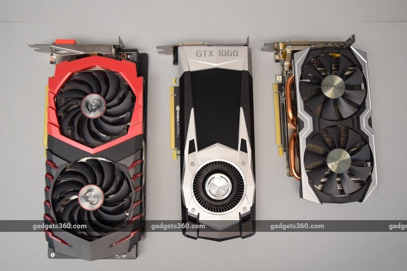 MSI GeForce GTX 1060 Gaming X and Zotac GeForce GTX 1060 Amp