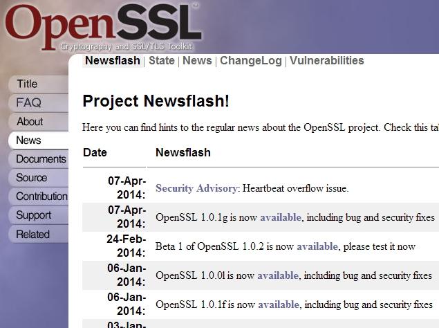 OpenSSL 'Heartbleed' vulnerability lets attackers spy on secure Web traffic