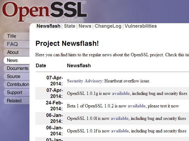 OpenSSL 'Heartbleed' vulnerability lets attackers spy on secure Web traffic