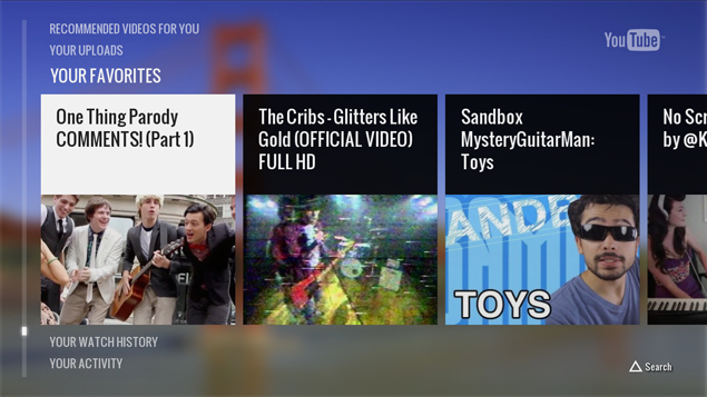 YouTube app for PlayStation 3 now available for download