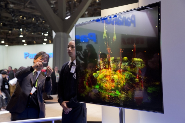 Panasonic showcases its new TV line up headed by 56-inch 4K OLED TV