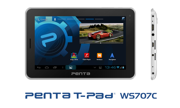 Penta T-Pad WS707C tablet with Android 4.1, voice calling launched for Rs. 7,999