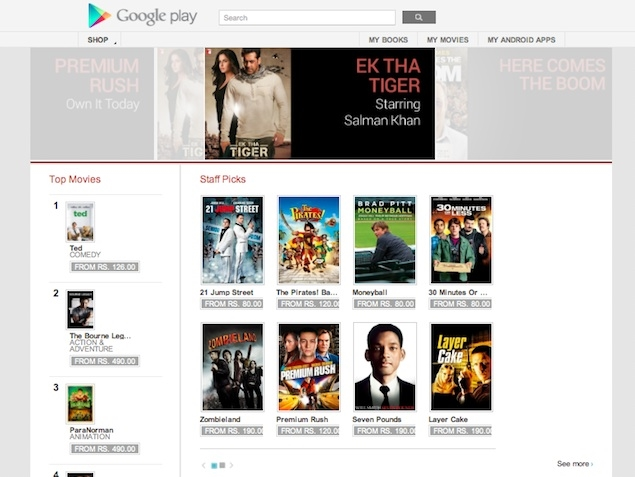 Google Play Movies now in India, rentals start at Rs. 50
