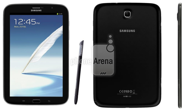 Samsung Galaxy Note 80 Charcoal Black Colour Spotted