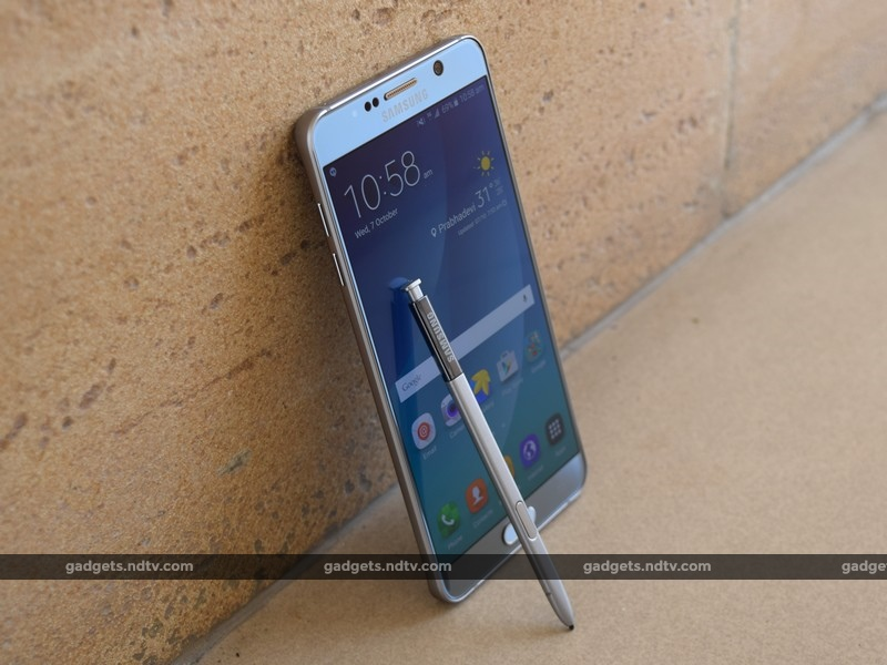 Samsung Galaxy Note 5 Review: Classing It Up