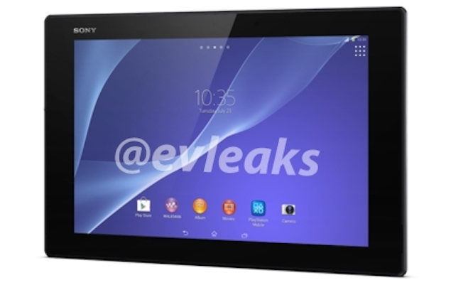Sony Xperia Tablet Z2 spotted in purported press renders