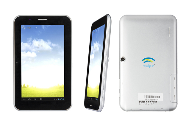 Swipe launches Halo Value tablet with Android 4.1 and voice calling for Rs. 6,990