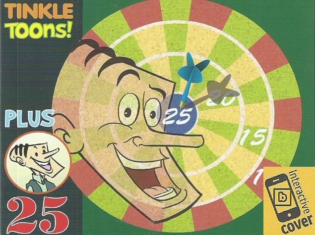 Playing Darts With Suppandi: How Tinkle Is Going High-Tech