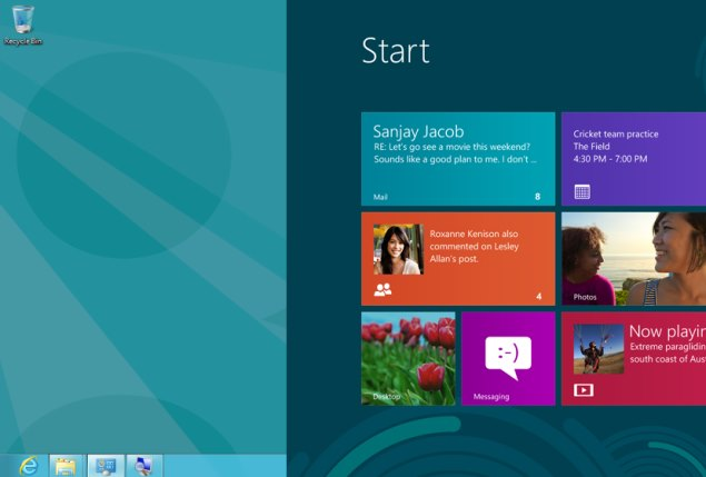 Windows 8.1 update might bury the Modern interface; boot to desktop by default