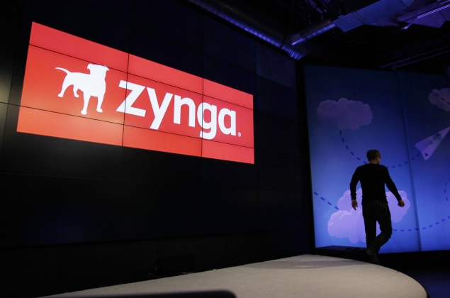 Zynga shares fall as Facebook free to develop own games