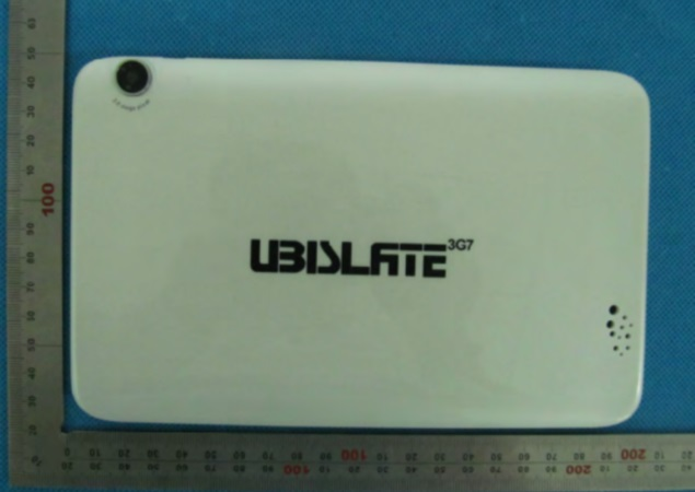 Datawind Ubislate 3G7 tablet spotted on the FCC website