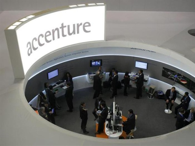 Accenture reports weak quarterly results; raises full-year profit forecast