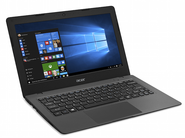 Acer Unveils Windows 10-Based Chromebook Rivals With Cloudbook Lineup