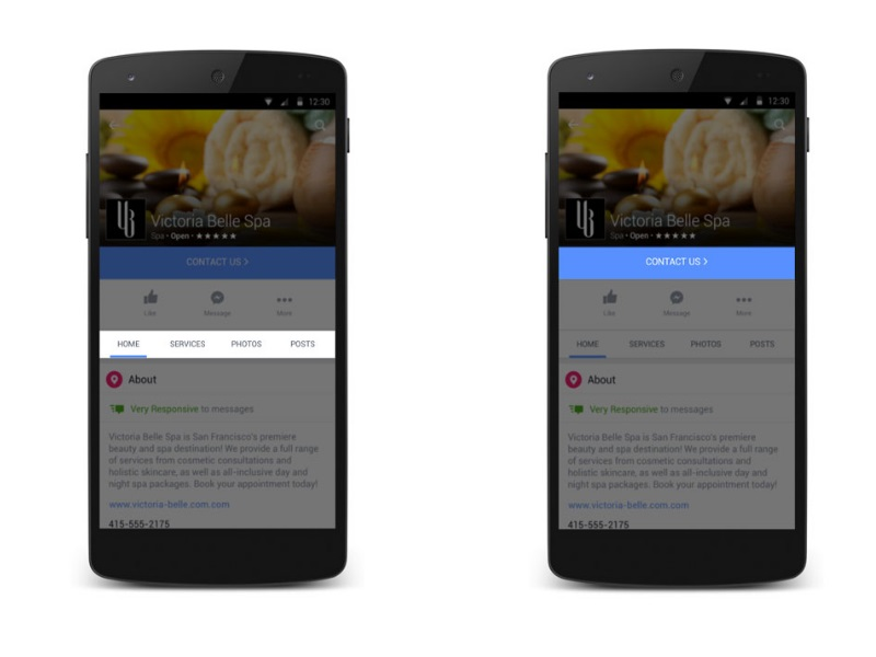 Facebook Pages Revamped for Mobile, Bring New Features for Businesses