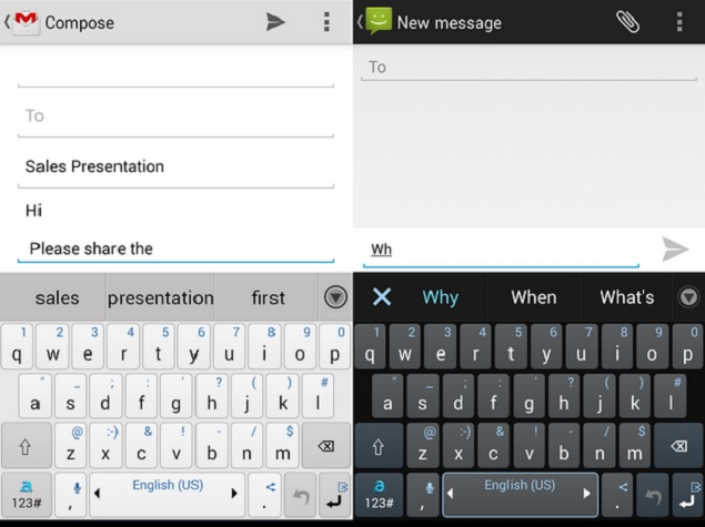 Adaptxt Keyboard app review: Location-based suggestions and more