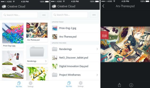 Adobe Releases 2014 Creative Cloud; Announces New Hardware, Mobile Apps, and SDK