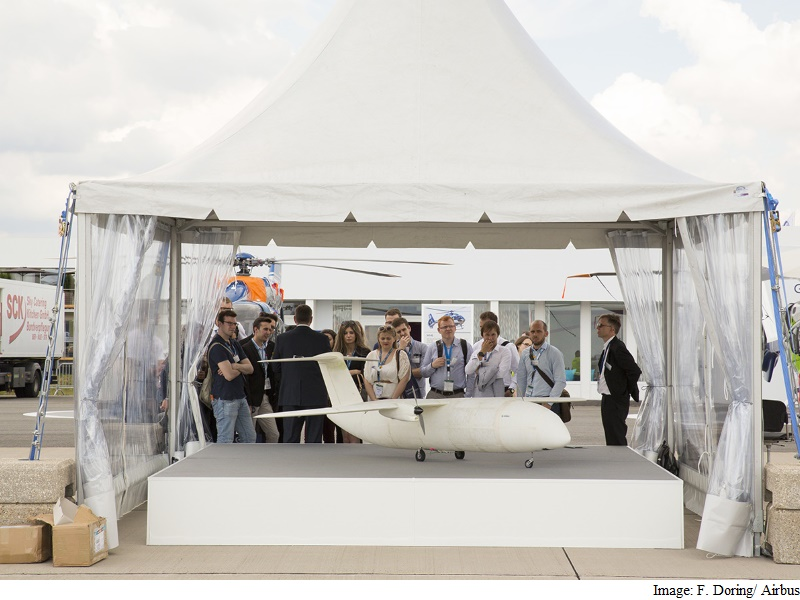 Airbus Presents 3D-Printed Mini Aircraft