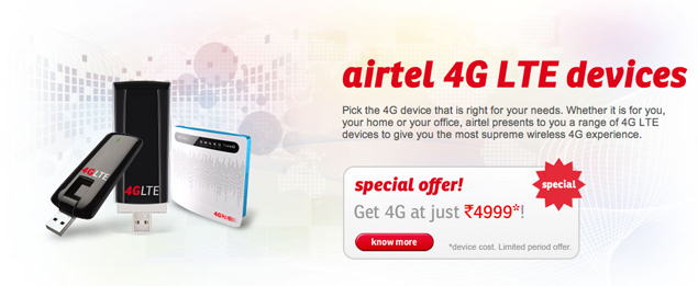 Airtel launches 4G LTE services in Pune