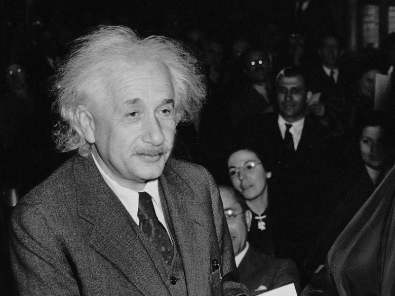 was albert einstein really a bad student who failed maths