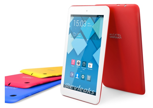 Alcatel One Touch Pop 7-inch Android tablet leaked in multiple colour variants
