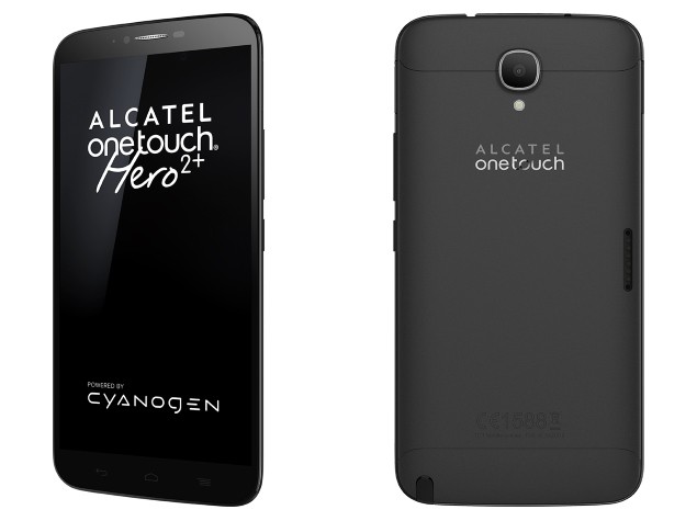 Alcatel OneTouch Hero 2+ With 6-Inch Display, Cyanogen OS ...