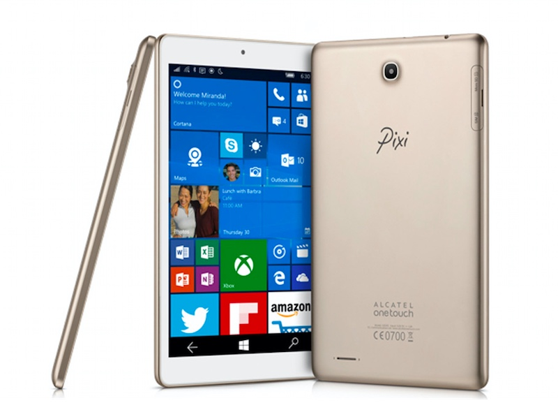 Alcatel OneTouch Pixi 3 Tablet With Windows 10 Mobile Unveiled Ahead of CES
