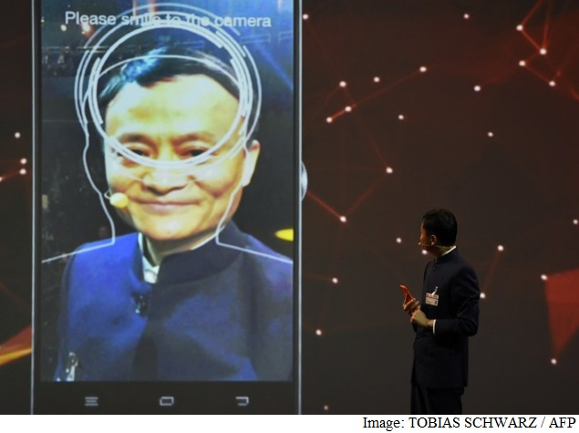 Alibaba Shows Off Pay-With-Your-Face Technology at CeBIT