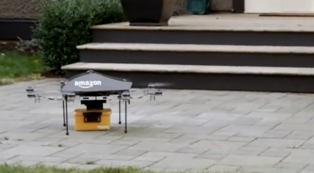 Amazon drone delivery vision faces legislative, technological hurdles to fruition