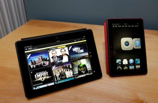 Amazon Kindle Fire HDX tablets feature market-differentiating Mayday Button