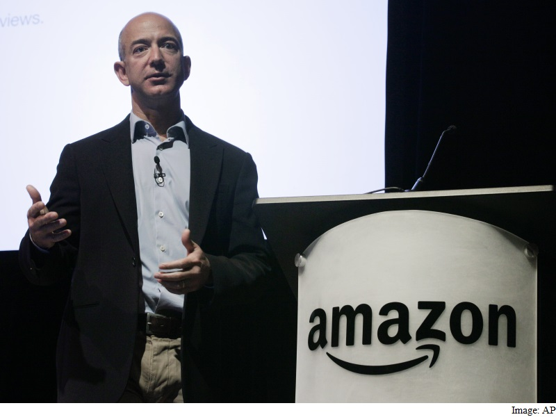 Jeff Bezos Rises to Become World's Second-Richest With Amazon Surge