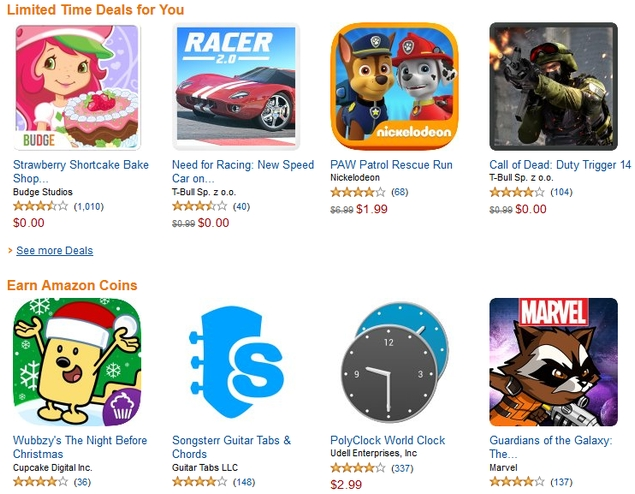 Amazon Offers Paid Apps Worth $220 for Free on Christmas