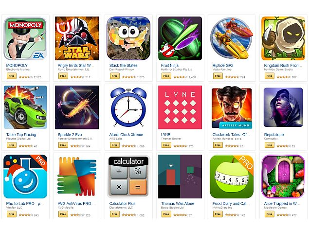 Amazon Offers 33 Paid Android Apps Worth $110 for Free Till Friday