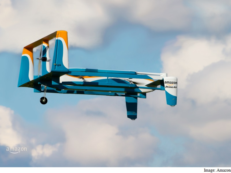 Amazon Video Shows Off New Delivery Drone Prototype