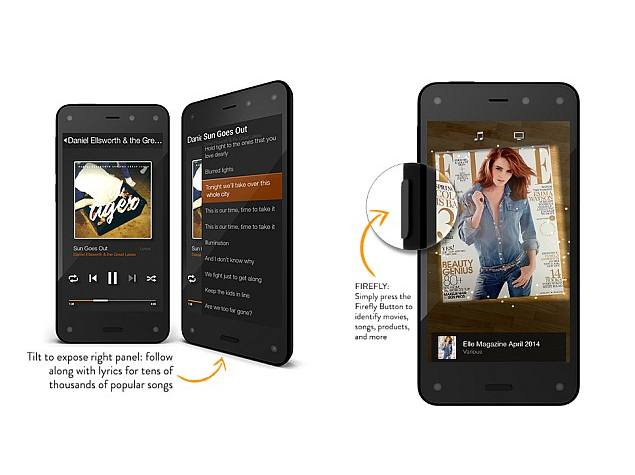 Amazon Releases Fire Phone's Dynamic Perspective and Firefly