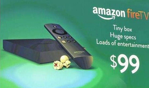 Amazon unveils Fire TV set-top box media streaming device