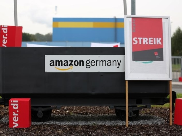 Amazon Hit By Pre-Christmas Labour Union Strike in Germany