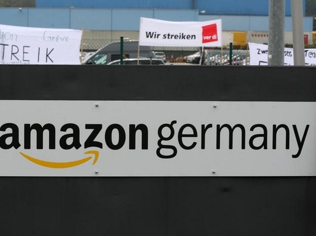 Amazon Threatened by German Union With Long Fight Over Wages