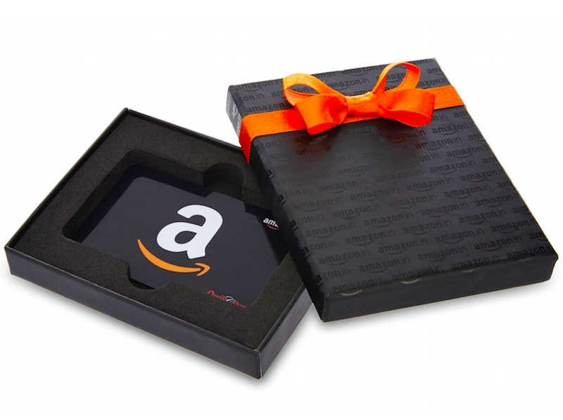 Amazon Offers Rs. 200 Gift Card on Orders Worth Rs. 500 and Above