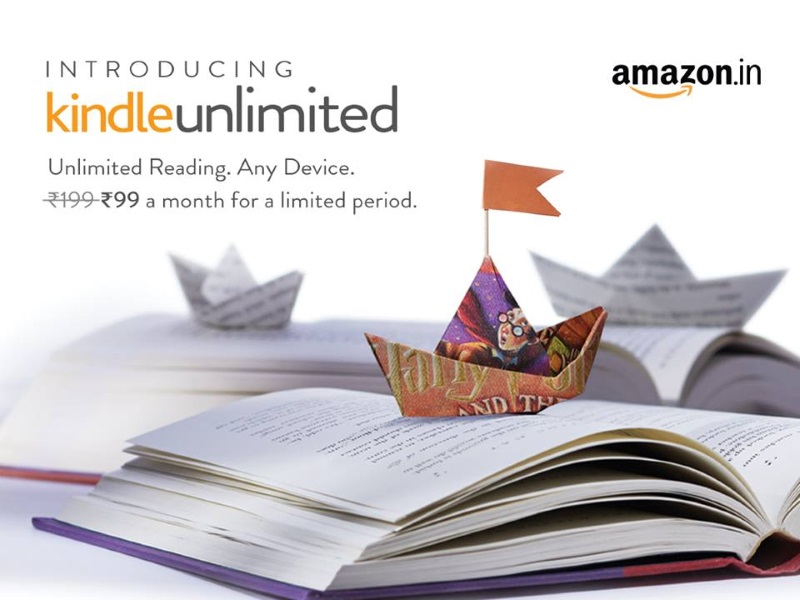 Amazon Kindle Unlimited Subscription Launched at Rs. 199 Per Month