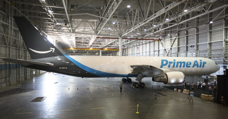 Amazon One is Amazon's First Branded Cargo Plane